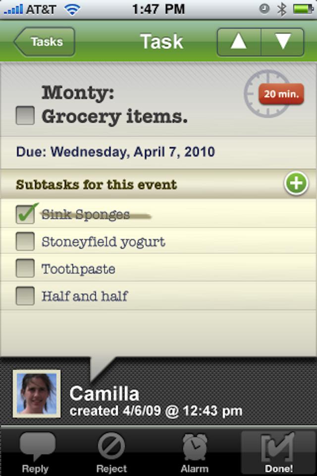 HoneyDo screenshot 5