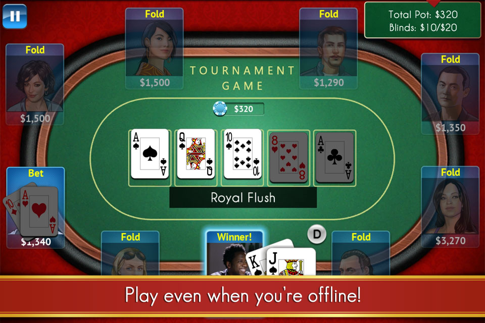 Texas Poker For Prizes - Online Hold'em Action screenshot #4