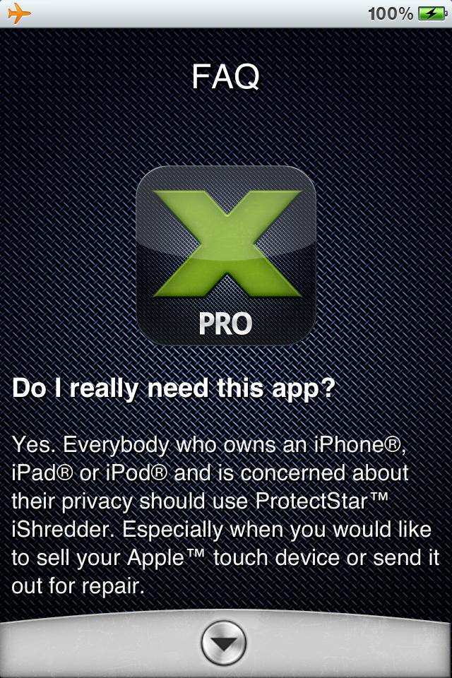 ProtectStar iShredder Pro
