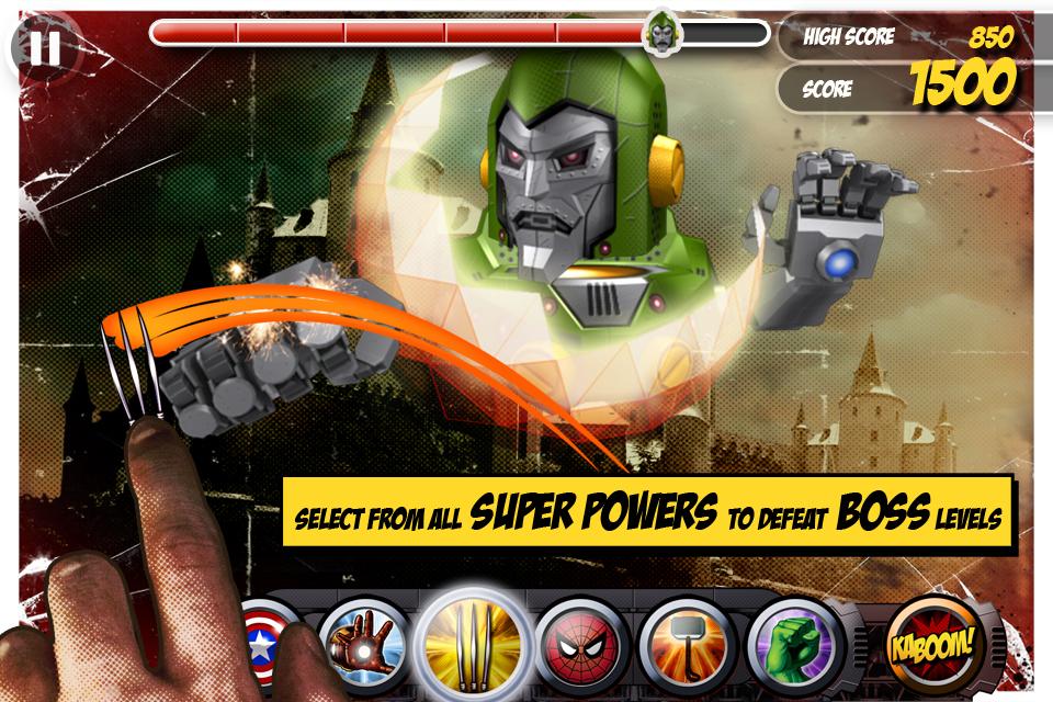 Marvel KAPOW! screenshot 3