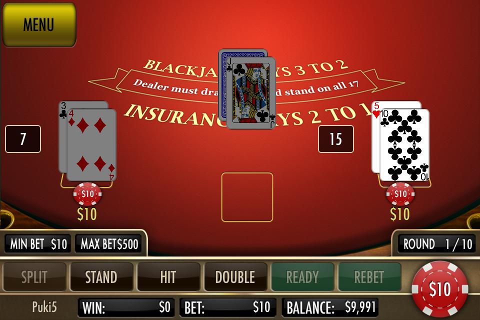 Black Jack Ultimate screenshot 4