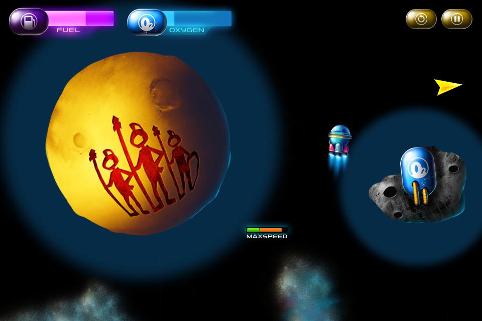 Spaced Away Slim screenshot 2