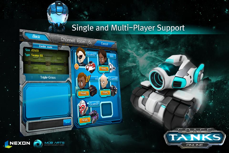 Space Tanks screenshot 3