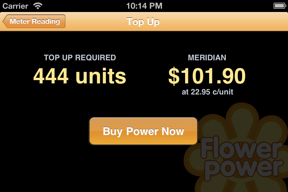 Flower Power Meter Reader screenshot #2