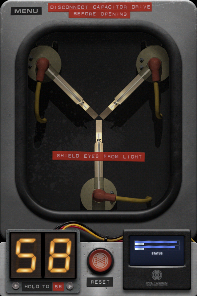 Back to the Future: Flux Capacitor screenshot 2