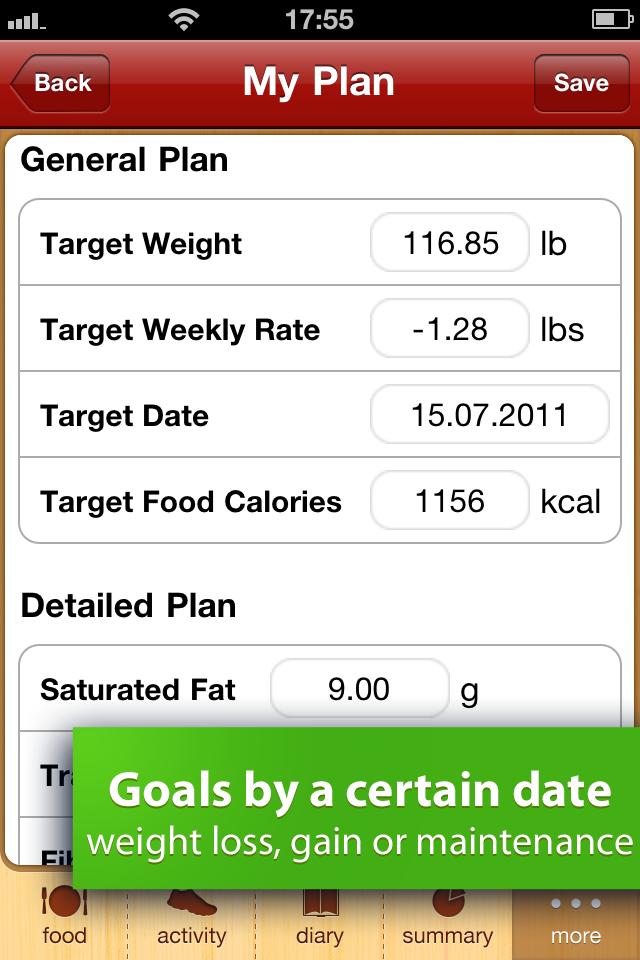 Calorie Counter Free screenshot 2