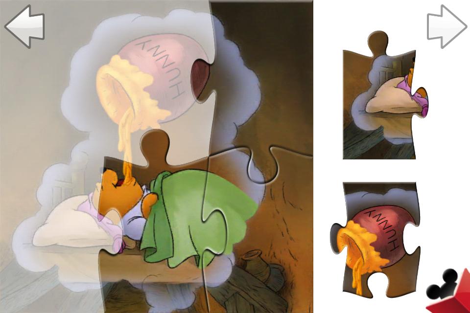 Winnie the Pooh Puzzle Book screenshot #3