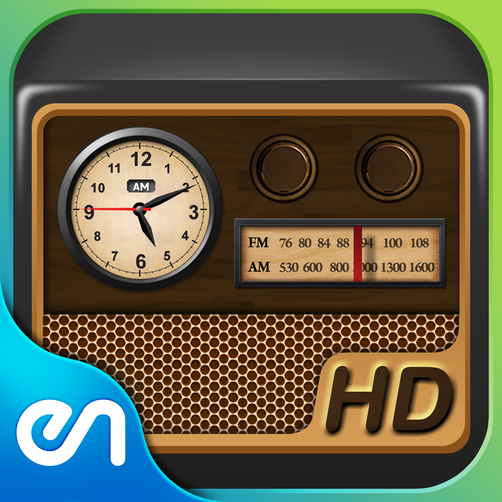 Radio Alarm Clock HD - Multipurpose Classic Themed Radio