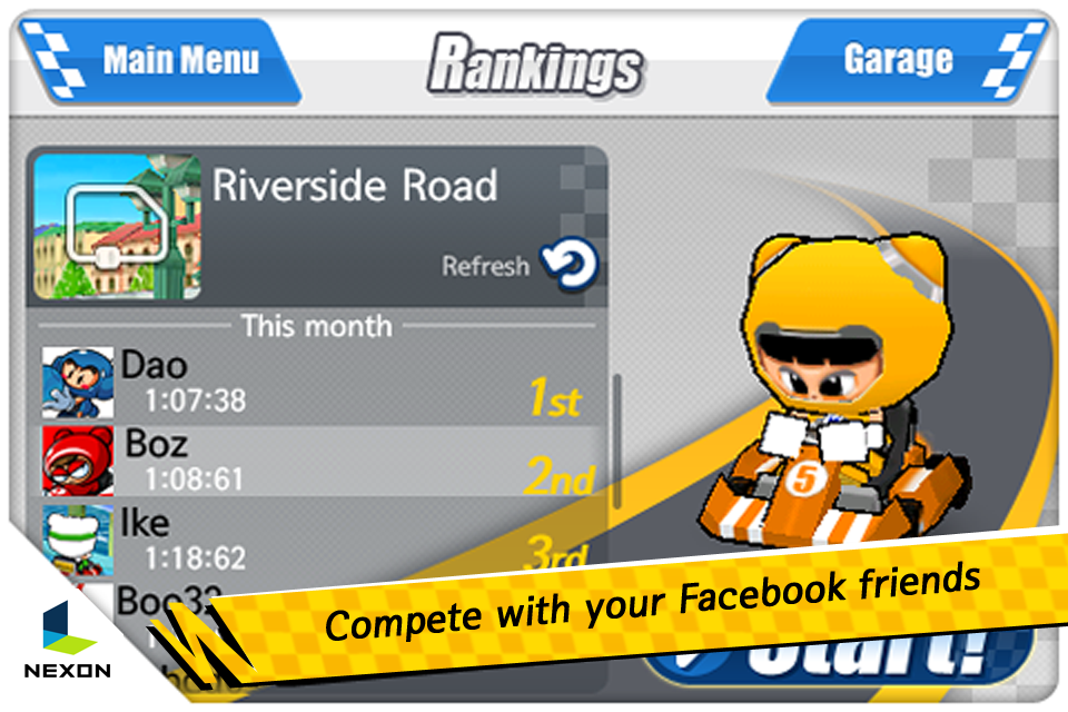 KartRider Rush Screenshot