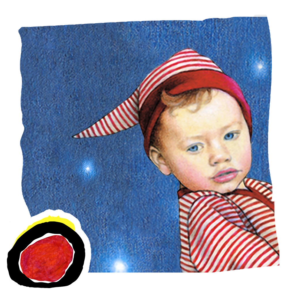 Love You to the Moon & Back, an interactive bedtime book for kids by Sue Shanahan (iPhone version; presented by Auryn)