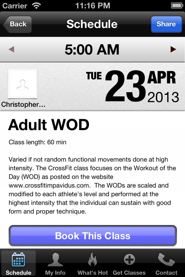 CrossFit Impavidus screenshot #3