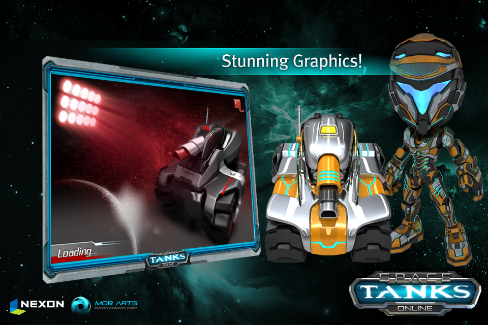 Space Tanks screenshot 2