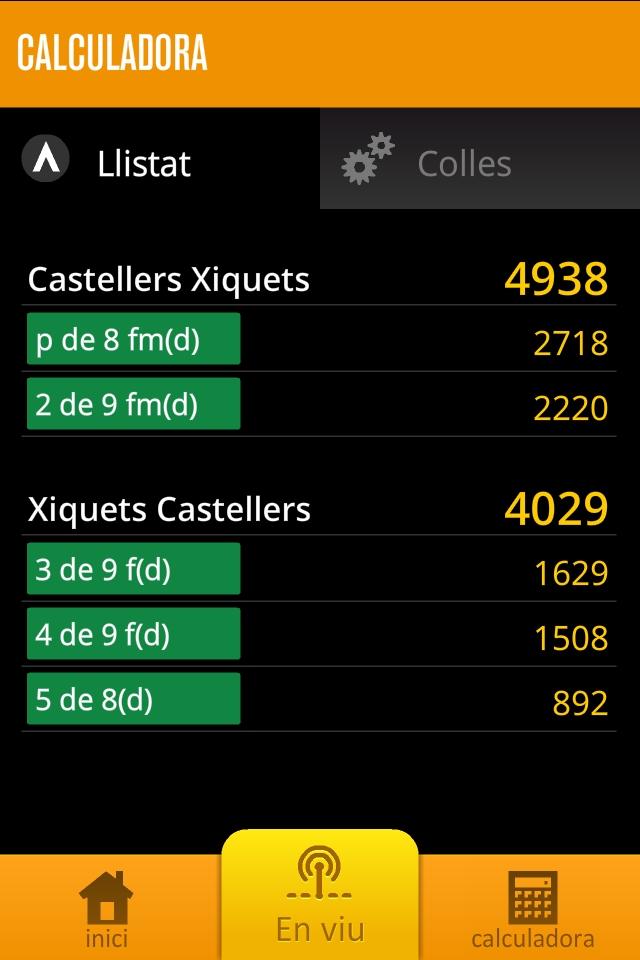 Concurs de Castells 2012 Screenshot
