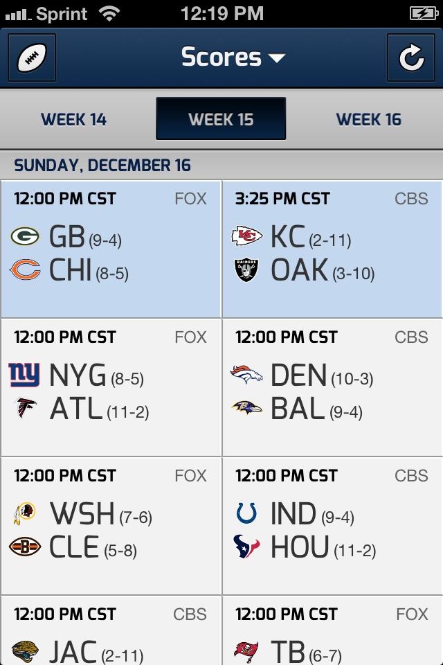 CBS SportCaster screenshot 1
