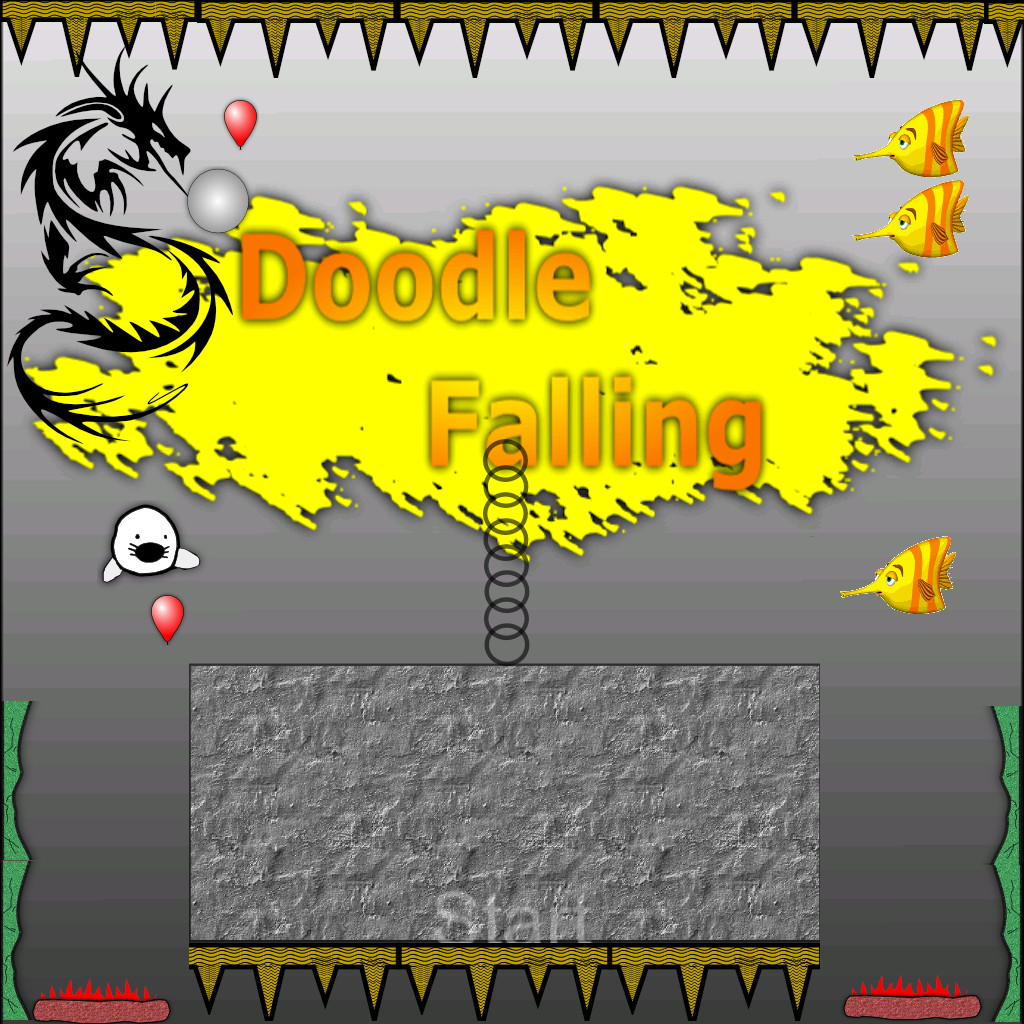 Doodle Falling