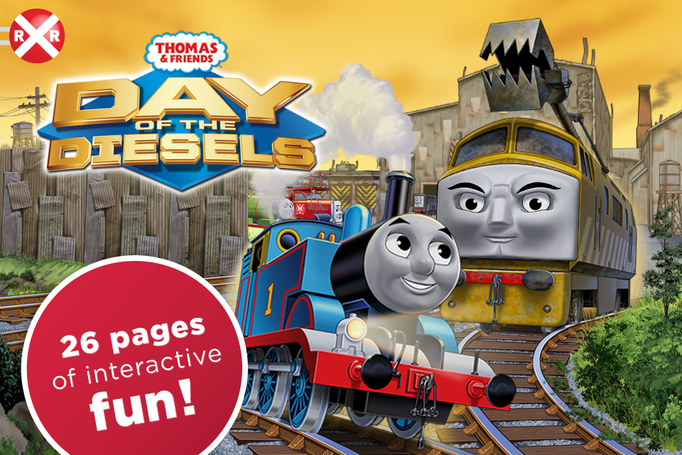 Thomas & Friends: Day of the Diesels screenshot 1