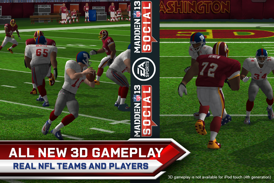 Madden NFL 13 Social screenshot #1