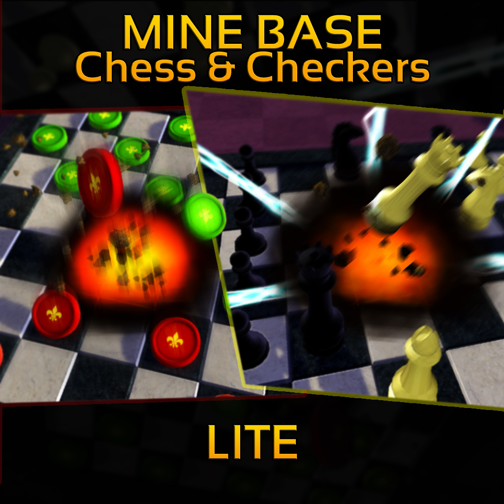 Mine Base Chess & Checkers LITE