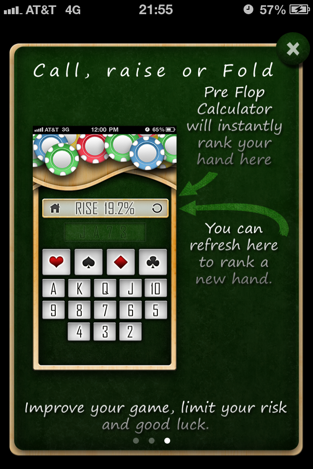 No Limit Holdem Calculator