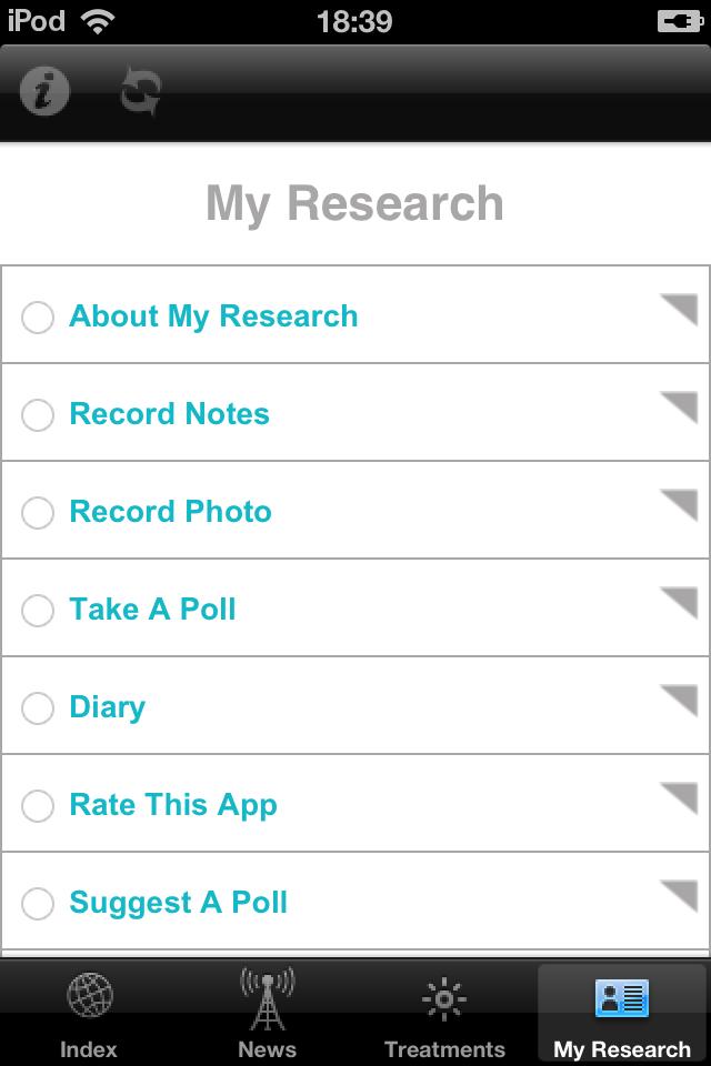 Psoriasis Researcher Screenshot