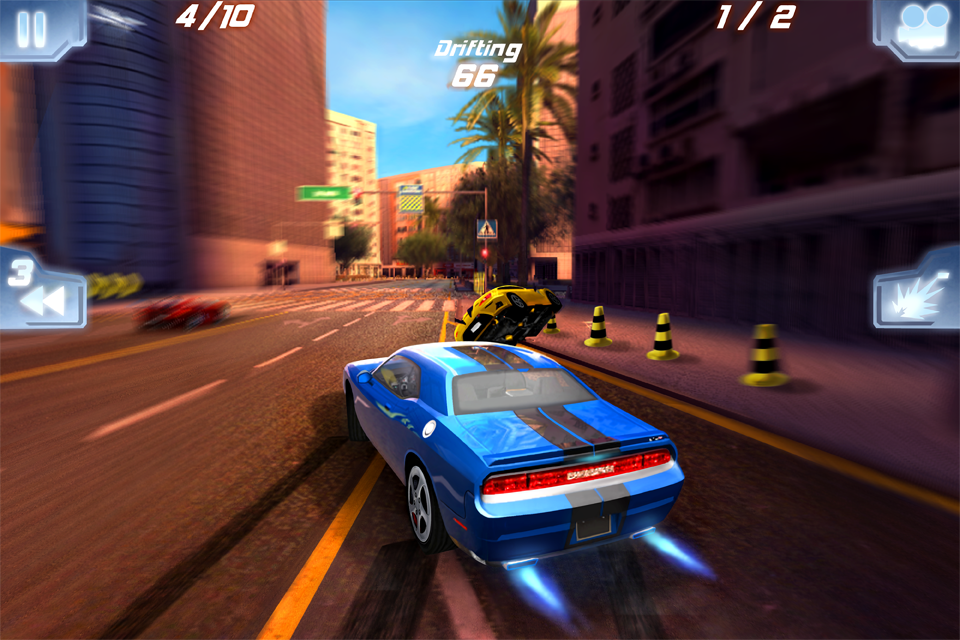 Fast Five the Movie: Official Game FREE screenshot 2