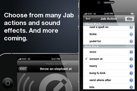 JabMe screenshot 3