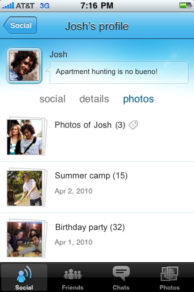 Windows Live Messenger screenshot 4