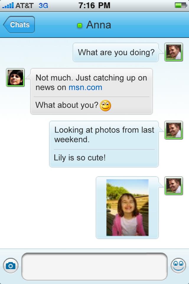 Windows Live Messenger screenshot 3