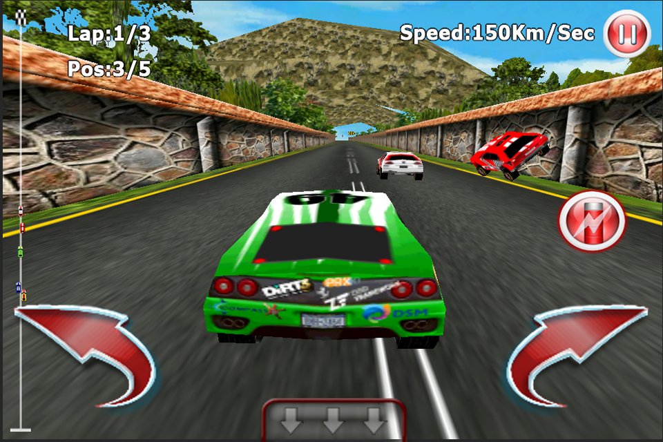 Flash Game Racing Car D