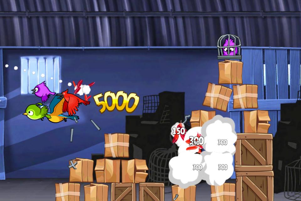 Angry Birds Rio Free screenshot #1