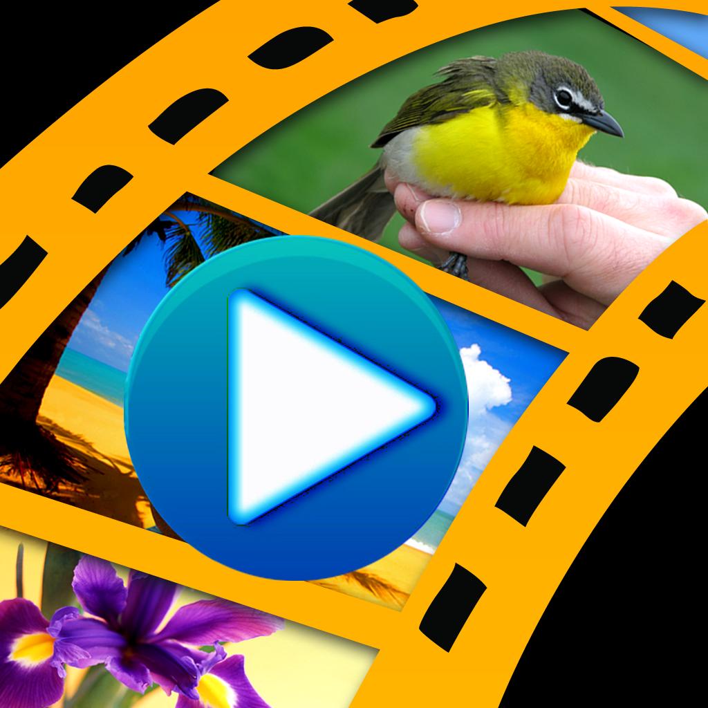 FotoSlides HD - Convert photos to video slideshow
