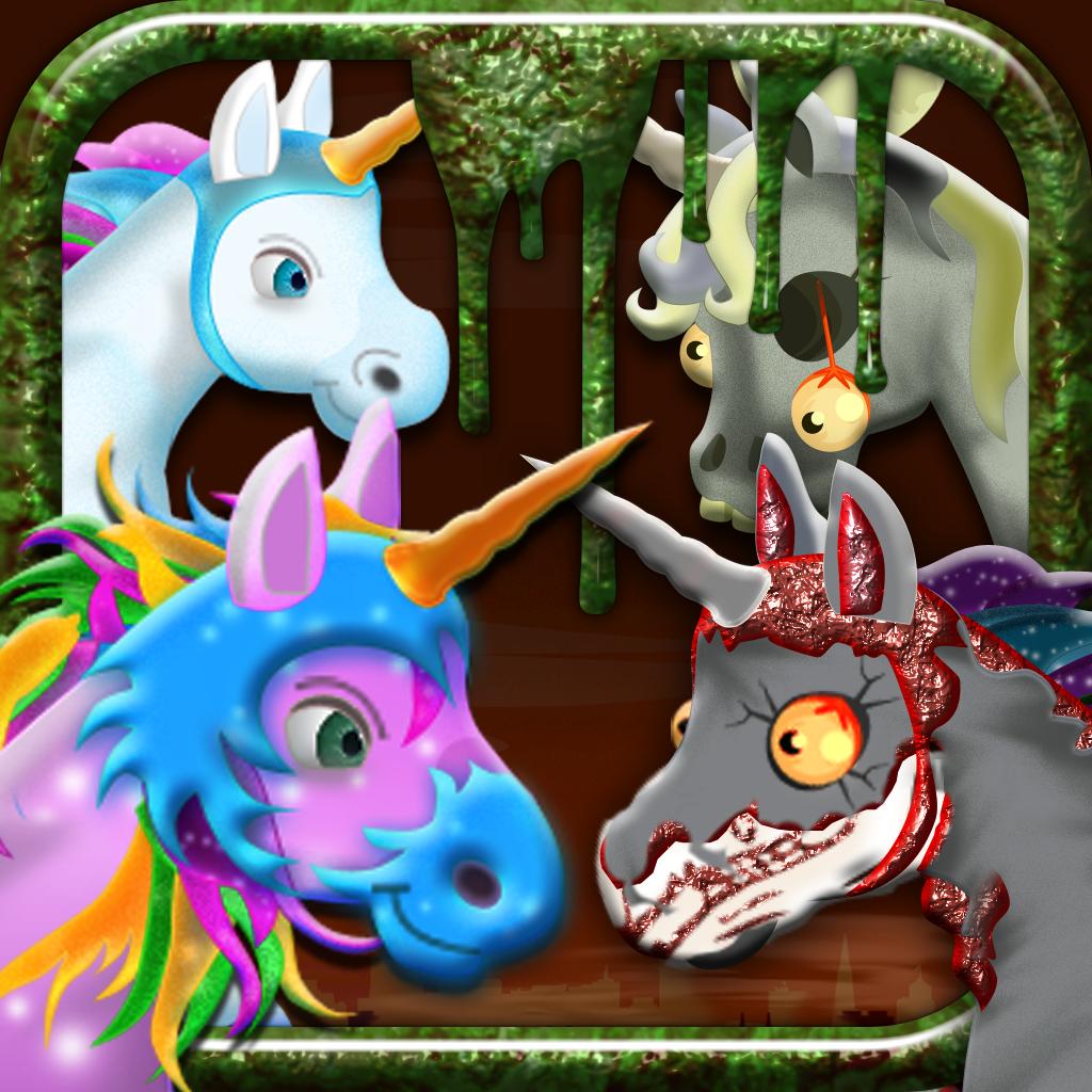 Unicorn Zombie Apocalypse Pro - Free Zombie Game