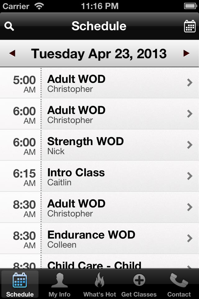 CrossFit Impavidus screenshot #2
