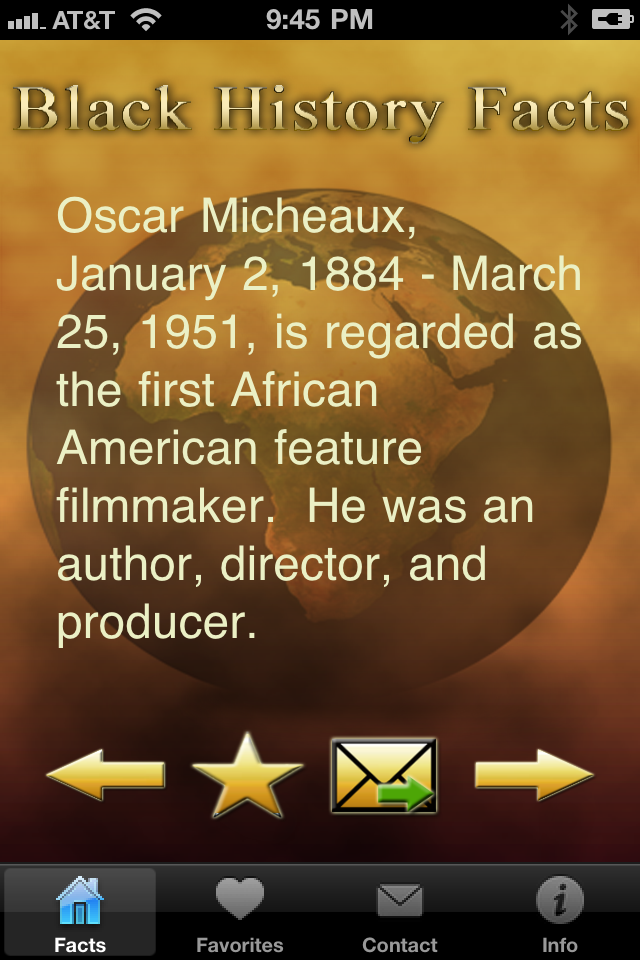 Black History Facts screenshot 1