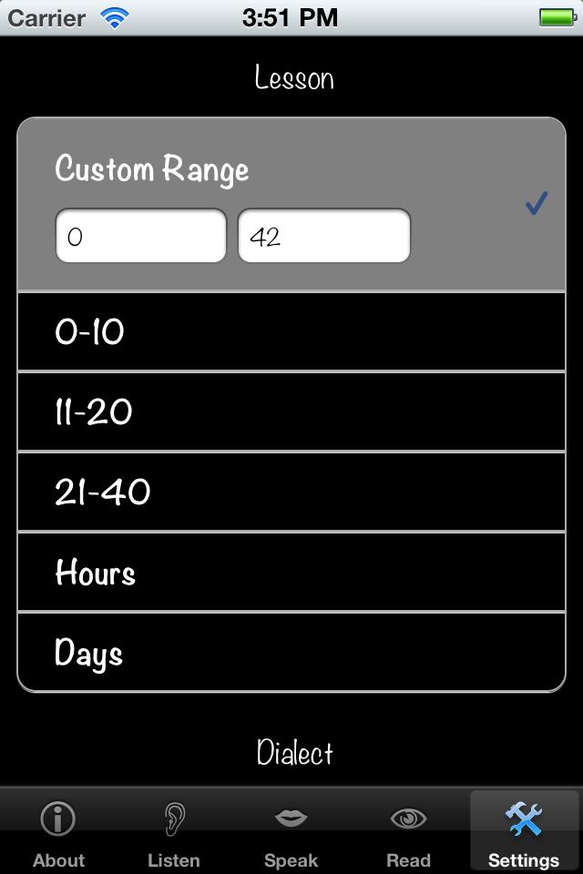 German Numbers (Free) Screenshot