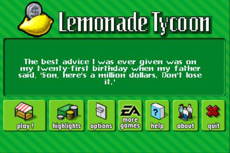 Lemonade Tycoon Free screenshot 1