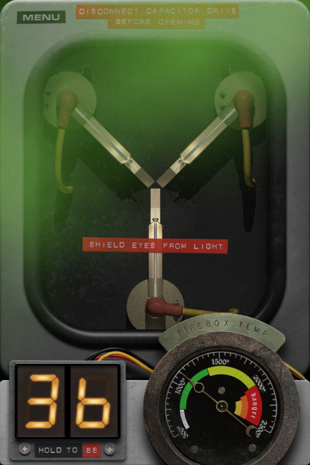 Back to the Future: Flux Capacitor screenshot 3