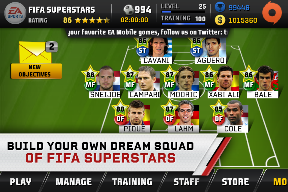 FIFA Superstars screenshot #1