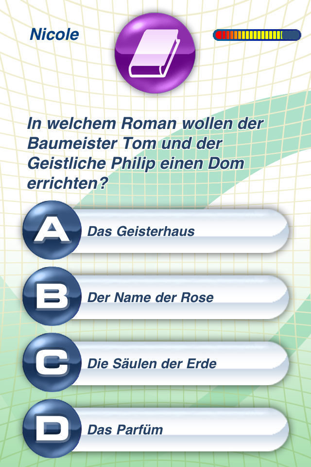Wissenstraining. Das Quiz. screenshot 2