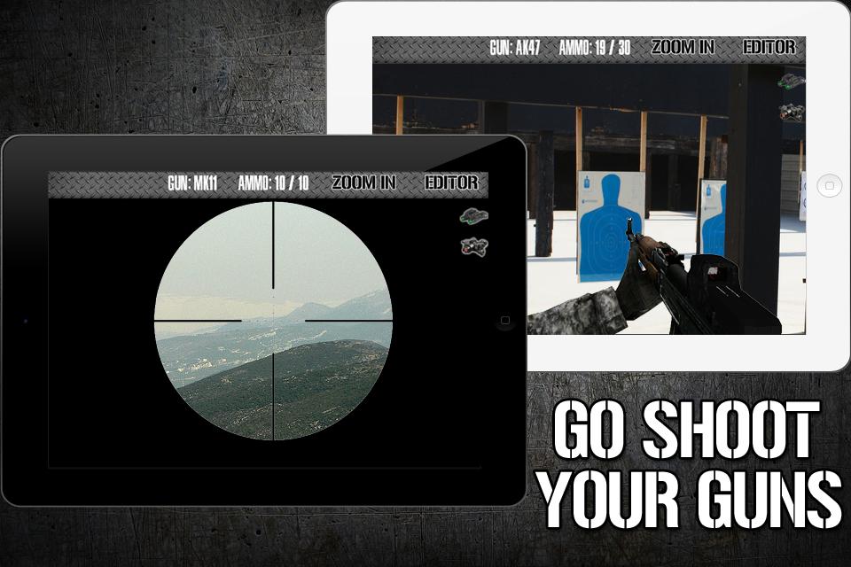 Gun Strike 3D – Free Real Time Camera FPS Screenshot