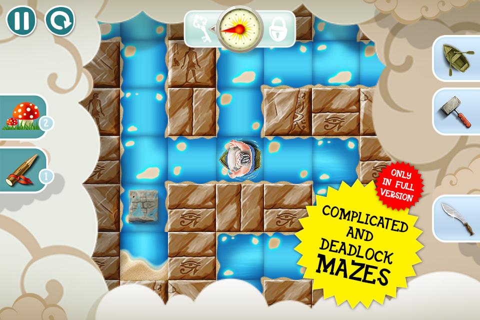 Fatty Maze's Adventures lite edition Screenshot