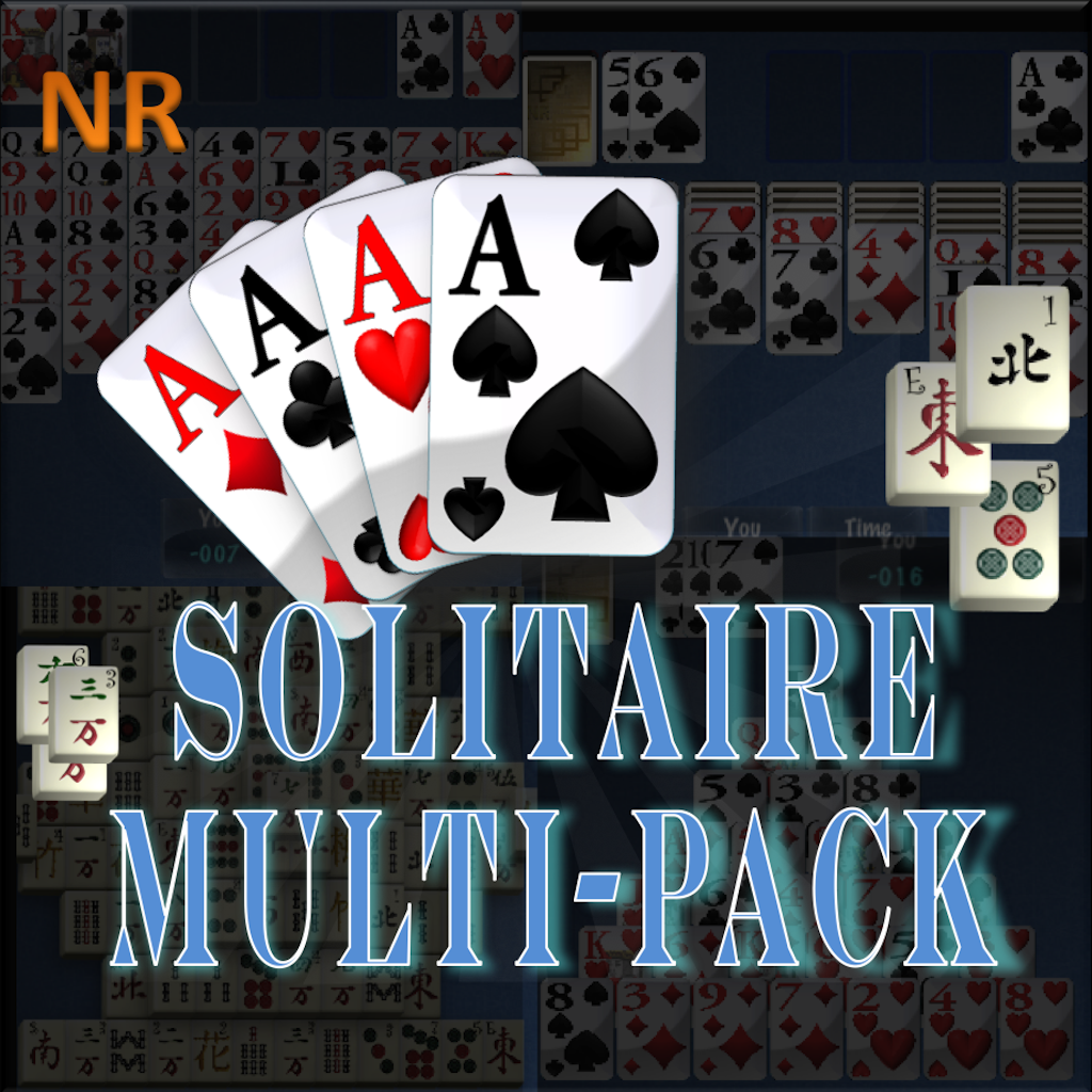 Solitaire Multipack+ (Klondike, Spider, Mahjong, FreeCell, Pyramid)