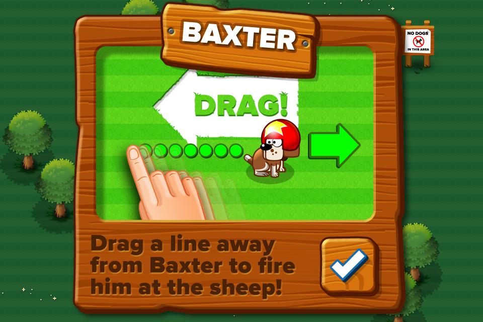 Sticky Sheep™ Lite screenshot 2