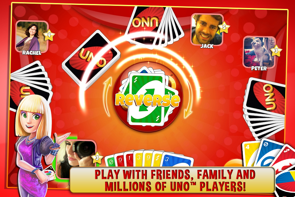 Play UNO & Friends The Classic Card Game Goes Social! Game ...