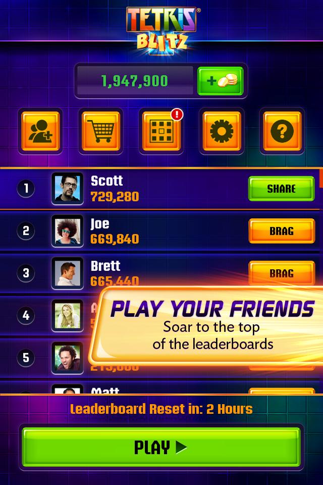 Tetrisu00ae Blitz Screenshot