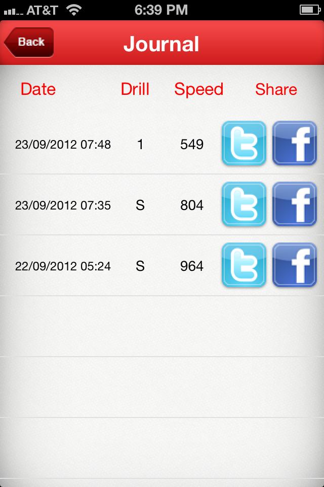 RapidReading Screenshot