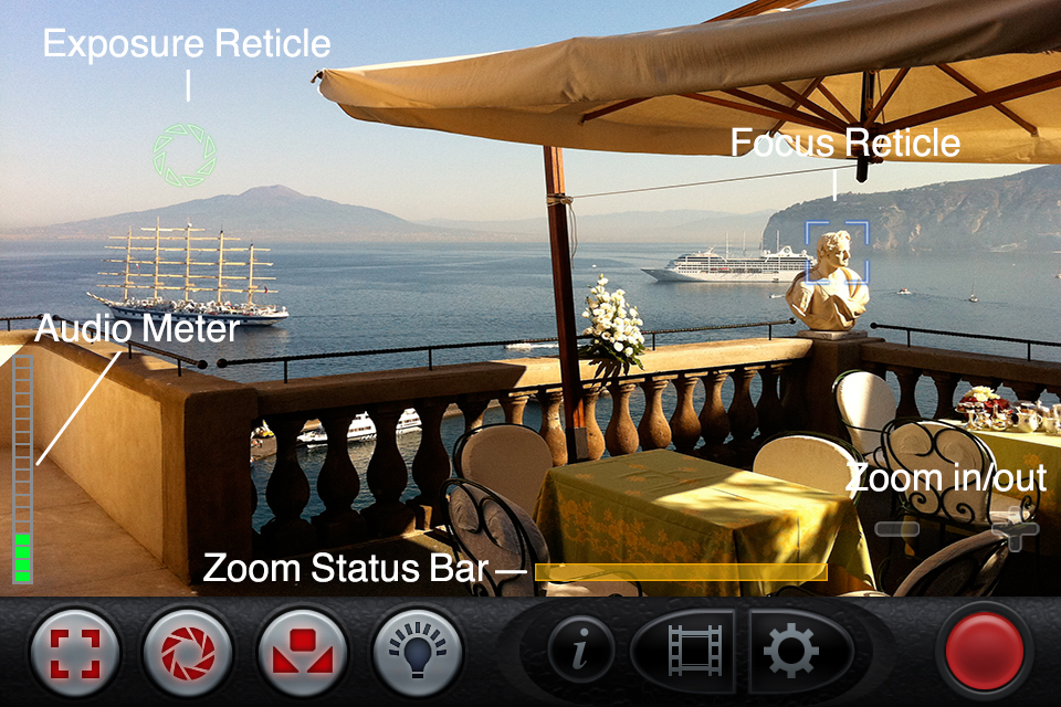 FiLMiC Pro 2 screenshot 1