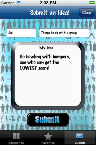 Ideas! Screenshot