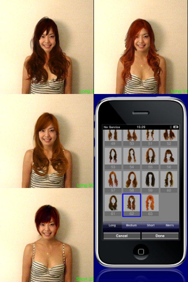 Try Hairstyle Screenshot