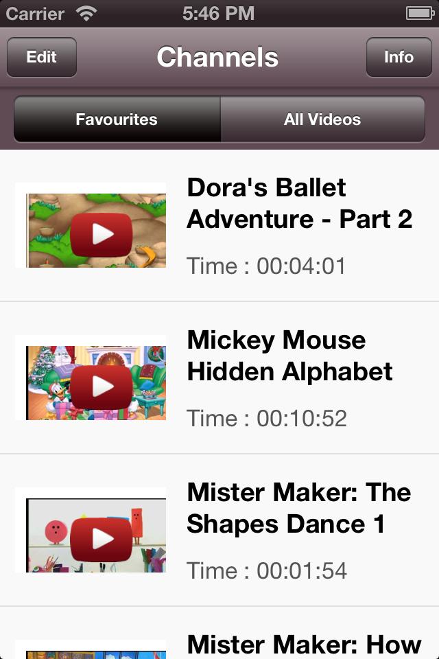 Kiddy TV – YouTube for Kids Screenshot